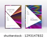 stylish cover design template... | Shutterstock .eps vector #1293147832