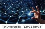 connection technologies... | Shutterstock . vector #1293158935