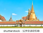 grand palace and wat phra keaw...   Shutterstock . vector #1293183538
