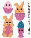 Kawaii Easter Set With Easter...