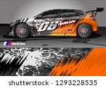car livery graphic vector.... | Shutterstock .eps vector #1293228535