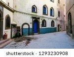 old door in wall  photo as...   Shutterstock . vector #1293230908