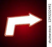electric bulbs billboard. retro ...   Shutterstock .eps vector #1293232492