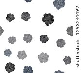 dark blue vector seamless... | Shutterstock .eps vector #1293244492