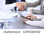 business people group working... | Shutterstock . vector #1293260332