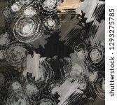 abstract random shapes. 2d... | Shutterstock . vector #1293275785