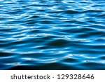 Deep Blue Water Surface Texture
