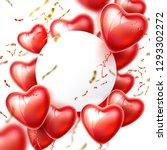 valentines day  wedding ...   Shutterstock .eps vector #1293302272