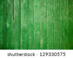 Old Wooden Wall  Green...