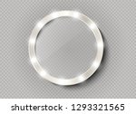 makeup mirror isolated with... | Shutterstock .eps vector #1293321565