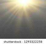 white glowing light burst... | Shutterstock .eps vector #1293322258