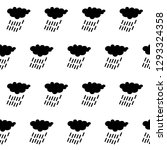 rain cloud icon  seamless... | Shutterstock .eps vector #1293324358