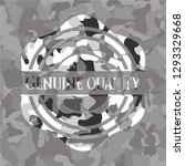 genuine quality written on a... | Shutterstock .eps vector #1293329668