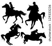 Horsemen Fine Vector...