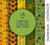 camping outdoor activities... | Shutterstock .eps vector #1293342178