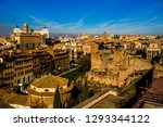 rome  italy s capital  is a... | Shutterstock . vector #1293344122