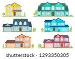 vector flat icon suburban...   Shutterstock .eps vector #1293350305