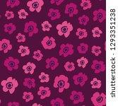 flower pattern. endless... | Shutterstock .eps vector #1293351238