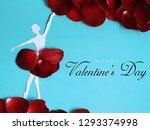 happy valentine's day greeting...   Shutterstock . vector #1293374998