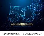 anniversary 50. geometric... | Shutterstock .eps vector #1293379912