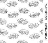 pattern of vector illustrations ...   Shutterstock .eps vector #1293380842
