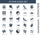 pair icons. trendy 25 pair... | Shutterstock .eps vector #1293415828
