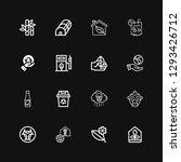 editable 16 bio icons for web...   Shutterstock .eps vector #1293426712