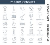 farm icons. trendy 25 farm... | Shutterstock .eps vector #1293439315