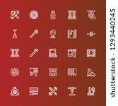 editable 25 mechanic icons for... | Shutterstock .eps vector #1293440245