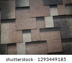 roof covered by hexagonal soft... | Shutterstock . vector #1293449185