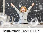 pupil in elementary school... | Shutterstock . vector #1293471415