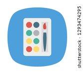 palette   color  brush  | Shutterstock .eps vector #1293474295
