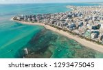 aerial images of the beach of... | Shutterstock . vector #1293475045