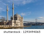 ortakoy mosque known also as...   Shutterstock . vector #1293494065