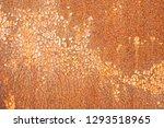 rusty metal texture background. ... | Shutterstock . vector #1293518965