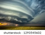 cloudy   dusty and dangerous... | Shutterstock . vector #1293545602