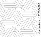 geometrical backdrop. stars ... | Shutterstock .eps vector #1293556282