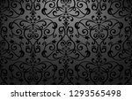 wallpaper in the style of... | Shutterstock .eps vector #1293565498