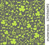 st. patrick's day background in ... | Shutterstock . vector #1293566392