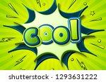 retro comic poster  cool  star... | Shutterstock .eps vector #1293631222