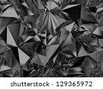 Abstract Black Crystal...