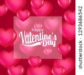 love romance illustration for... | Shutterstock .eps vector #1293686542