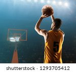 professional basketball player... | Shutterstock . vector #1293705412