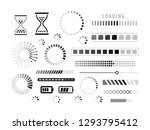 loading icon. load  download ... | Shutterstock .eps vector #1293795412