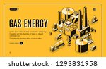 natural gas and energy supply... | Shutterstock .eps vector #1293831958