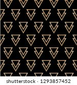 art deco vector hipster... | Shutterstock .eps vector #1293857452