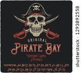 vintage label typeface named... | Shutterstock .eps vector #1293892558