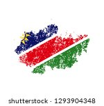 flag namibia of the old state | Shutterstock .eps vector #1293904348