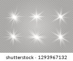 star explodes on transparent... | Shutterstock .eps vector #1293967132