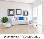 idea of a white scandinavian...   Shutterstock . vector #1293986812